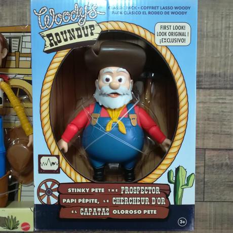 トイストーリー ウッディー&プロスペクター アクションフィギュア  Toy Story Woody's Round-Up Classic Pack