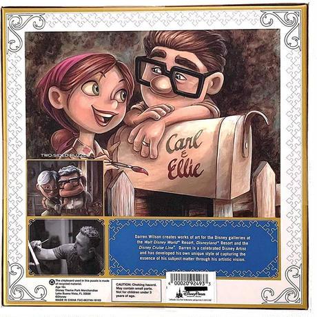 DisneyParks限定『カールじいさんの空飛ぶ家』10周年記念1000ピース リバーシブル ジグソーパズル