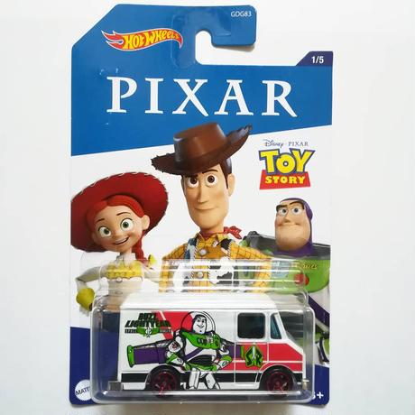 ディズニー・ピクサー ホットウィール  5台セット Disney Pixar  Hot Wheels  set of 5