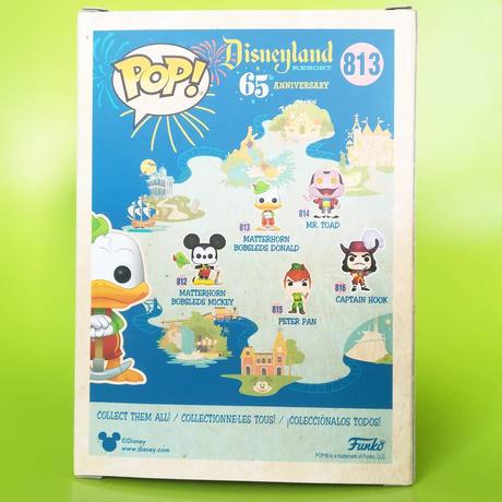 ファンコ ポップ ディズニーランド65周年 マッターホーン・ボブスレー ドナルドダック Funko Pop! Disneyland 65th Anniversary