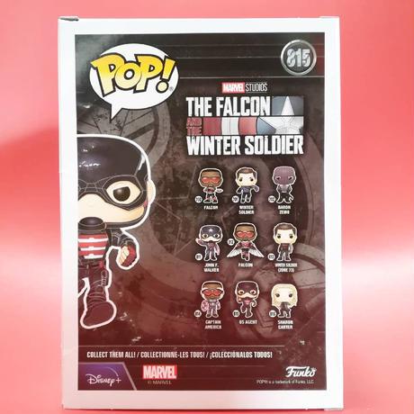 """ファンコ ポップ マーベル『ファルコン&ウィンター・ソルジャー』USエージェント Funko POP!""""The Falcon and the Winter Soldier"""" US AGENT"""