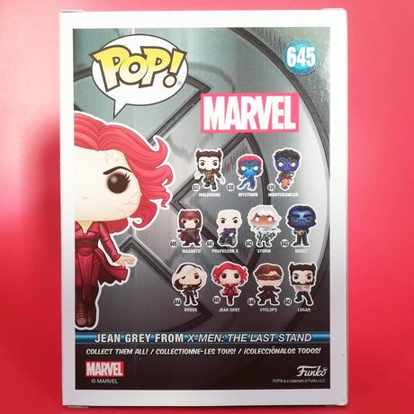 ファンコ ポップ マーベル X-MEN 20周年記念 ジーン・グレイ(グロー版)POP! Funko Marvel: X-Men JEAN GREY  (GITD)