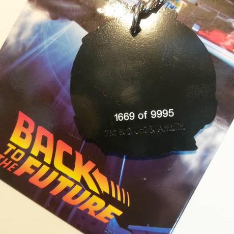 『バック・トゥ・ザ・フューチャー』 9995個限定キーチェーン(シリアルナンバー入)