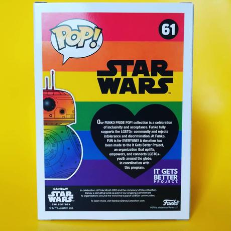ファンコ ポップ スターウォーズ BB-8【レインボー】   FUNKO POP! STARWARS BB-8 (Rainbow)