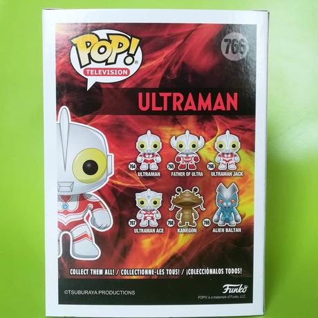 ファンコ  ポップ 「 ウルトラマン」帰ってきたウルトラマン Funko POP!  ULTRAMAN - ULTRAMAN JACK
