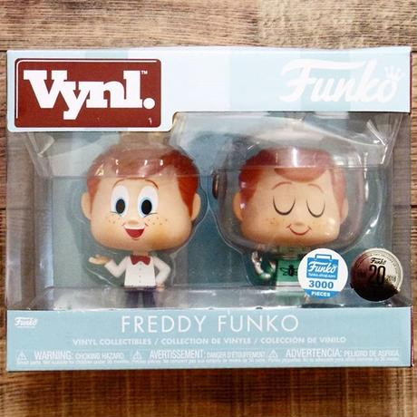 Funkoショップ限定 ファンコ Vynl  Funko Vynl.: FREDDY FUNKO  (2 Pack)