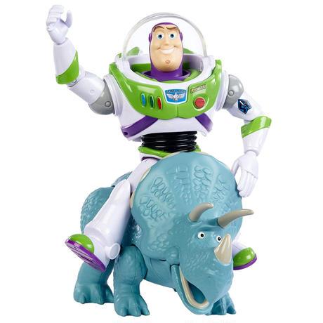 トイストーリー25周年 バズライトイヤー & トリクシー アクションフィギュア  TOY STORY  25th Anniversary Buzz Lightyear & Trixie