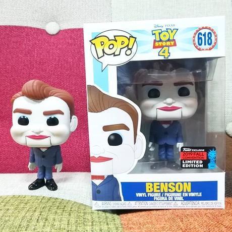 2019 コミコン限定 ファンコ ポップ 『トイストーリー4』ベンソン  FUNKO POP! Toy Story4 Benson
