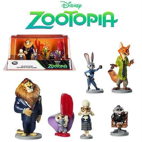 ズートピア フィギュア プレイセット Disney Store Zootopia Figure Play Set ~ 6 piece