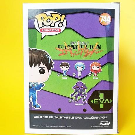 ファンコ ポップ 『新世紀エヴァンゲリオン』碇シンジ FUNKO POP! Neon Genesis Evangelion  Shinji Ikari