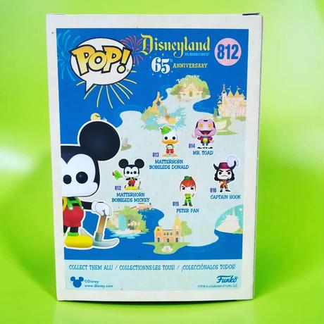 ファンコ ポップ ディズニーランド65周年 マッターホーン・ボブスレー ミッキーマウス Funko Pop! Disneyland 65th Anniversary