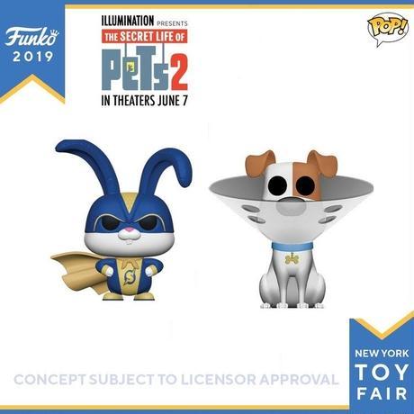 ファンコ ポップ『ペット2』2体セット FUNKO POP! The Secret Life of Pets 2   set of 2