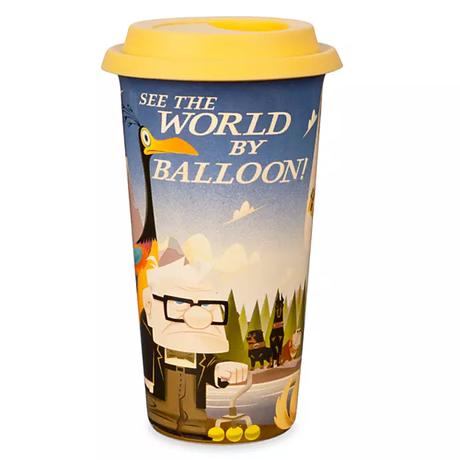 『カールじいさんの空飛ぶ家』 セラミック製 トラベル・マグカップ
