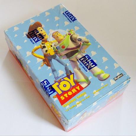 トイストーリー 1995年デッドストック SkyBox社製 トレーディングカード 36パック入り1ボックス