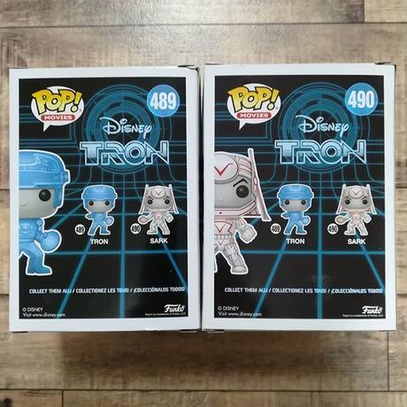ファンコ ポップ  『トロン』2体セット FUNKO  POP!  Disney TRON  set of 2