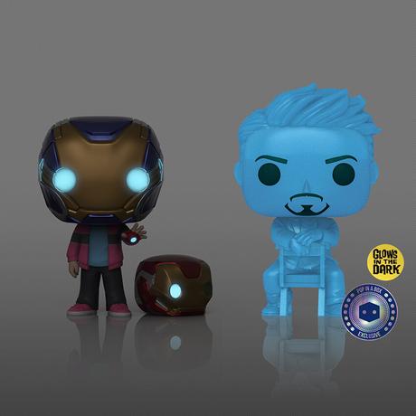 ファンコ ポップ アベンジャーズ・エンドゲーム  モーガン & トニー・スターク FUNKO POP! Morgan & Tony Stark