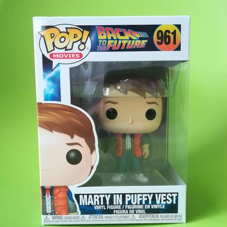ファンコ ポップ 「バック・トゥ・ザ・フューチャー」マーティ in ダウンベスト FUNKO POP BTTF  - Marty in Puffy Vest
