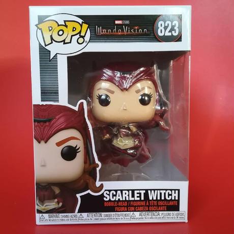 ファンコ ポップ マーベル『ワンダヴィジョン』スカーレット・ウィッチ Funko Pop! Marvel: WandaVision - Scarlet Witch