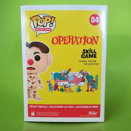 ファンコ ポップ  Hasbro Retro Toys シリーズ Operation Game Cavity Sam  オペレーションゲーム キャビティサム