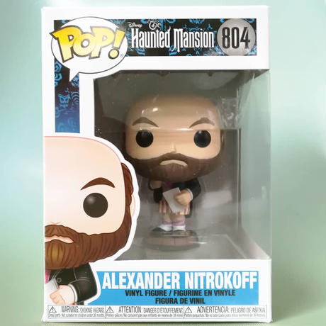 ファンコ ポップ  ディズニー『ホーンテッドマンション』アレクサンダー・ニトロコフ Funko Pop!  The Haunted Mansion  Alexander Nitrokoff
