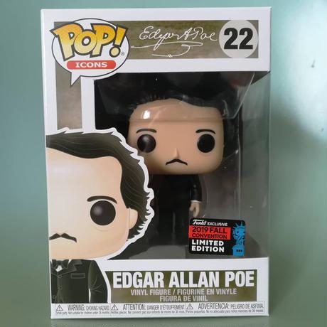 2019 コミコン限定 ファンコ ポップ エドガー・アラン・ポー  FUNKO POP!   Edgar Allan Poe  のコピー
