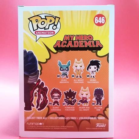 ファンコ ポップ  『僕のヒーローアカデミア』 オール・フォー・ワン (バトルハンド)    FUNKO POP! My Hero Academia All For One (Battle Hand)