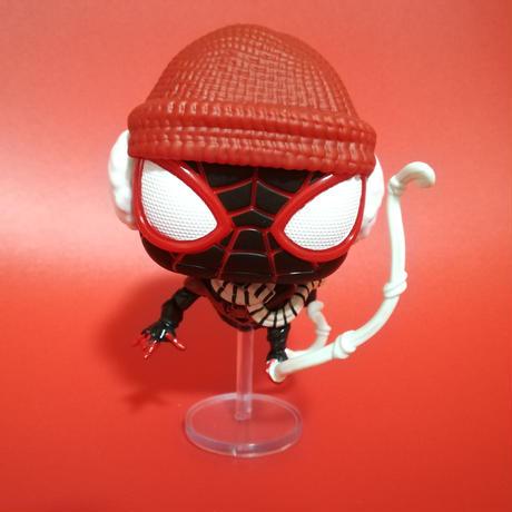 ファンコ ポップ スパイダーマン:マイルズ・モラレス  Funko Pop!Spider-Man Miles Morales Game Winter Suit