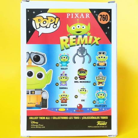 ファンコ ポップ トイストーリー エイリアン リミックス ウォーリー FUNKO POP! TOY STORY ALIEN REMIX - Wall-E