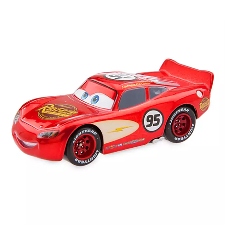ディズニー・ピクサー カーズ   CARS 1/43  Pull 'N' Race Die Cast Car Radiator Springs Lightning McQueen