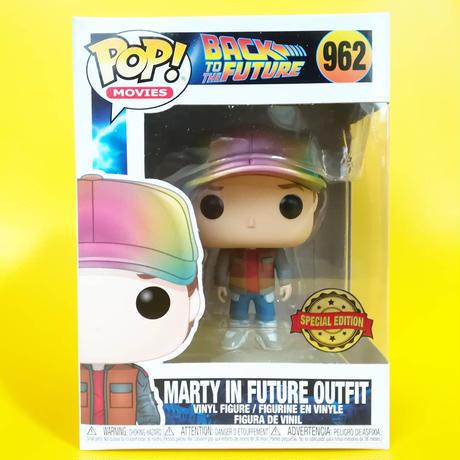 ファンコ ポップ 「バック・トゥ・ザ・フューチャー」マーティ in フューチャー(メタリック) FUNKO POP BTTF - Marty in Future Outfit (Metallic)
