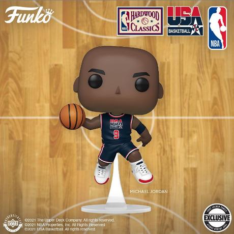 ファンコ ポップ NBA 1992 ドリームチーム マイケル・ジョーダン(ネイビージャージ) FUNKO POP! NBA 92 Dream Team - MICHAEL JORDAN  (NAVY)