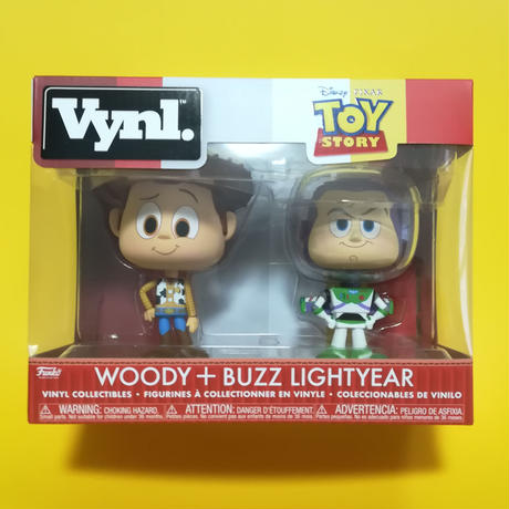 Toy Story Funko Vynl ウッディ& バズ・ライトイヤー フィギュアセット