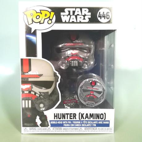 ファンコ ポップ   『スター・ウォーズ: バッド・バッチ』ハンター(カミーノ)ピンバッジ付 Funko Pop! StarWars: Bad Batch - HUNTER (Kamino)