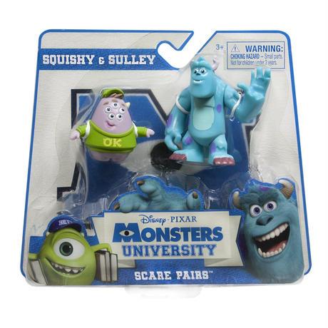 モンスターズ・ユニバーシティ Scare Pairs Sulley & Squishy