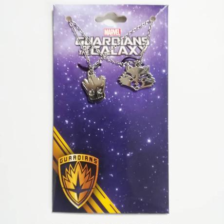 『ガーディアンズ・オブ・ギャラクシー:リミックス』ロケットとベビーグルートのネックレス・ペア・セット