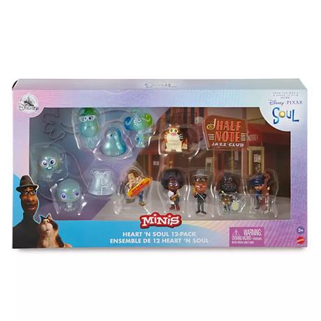 ピクサー「ソウルフル・ワールド」マテル社 MINIS 12体セット  Disney Pixar Soul  - Heart 'N Soul Mini Figure Play Set