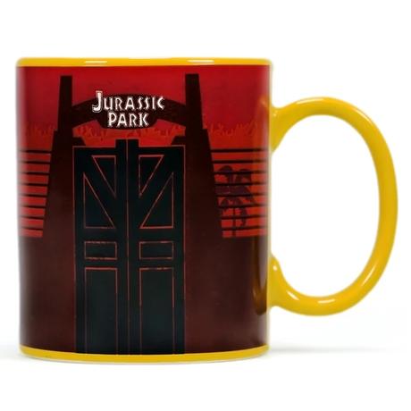 ジュラシックパーク 温度で柄が変わる ヒートチェンジ マグカップ