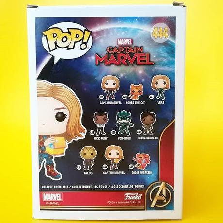 ファンコ ポップ 『キャプテン・マーベル』キャプテン・マーベル (テッサラクト) FUNKO POP! Captain Marvel (Tesseract)