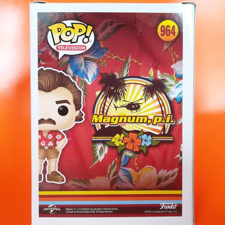 ファンコ  ポップ 『私立探偵マグナム』トーマス・マグナム  Funko POP!  Magnum, p.i.  Thomas Magnum