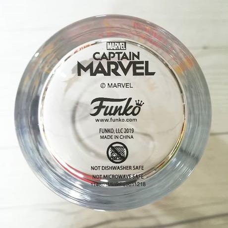 キャプテン・マーベル ガラス製 タンブラー