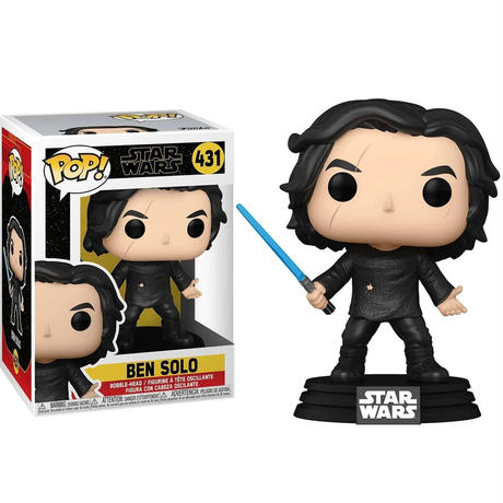 ファンコ ポップ  「スター・ウォーズ/スカイウォーカーの夜明け」ベン・ソロ FUNKO  POP! Star Wars - Ben Solo