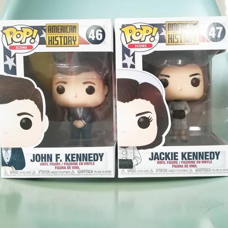 ファンコ ポップ 「アメリカンヒストリー」ジョン・F・ケネディ&ジャクリーン・ケネディ  FUNKO POP AMERICAN HISTORY