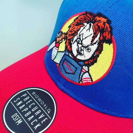 『チャイルド・プレイ』チャッキー  ベースボールキャップ  大人用 Child's Play  Chucky  Snapback Cap