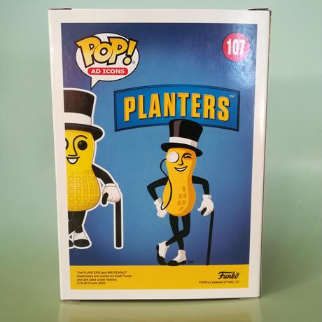 ファンコ ポップ  Funko POP!  Planters - Mr. Peanut