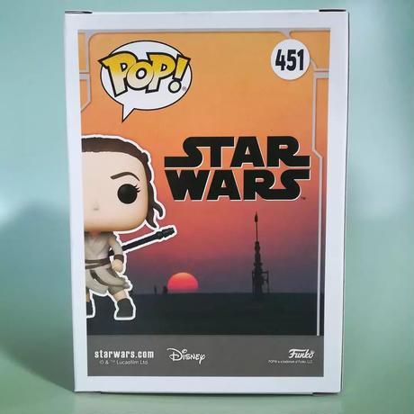 2021コミコン限定 ファンコ ポップ  「スターウォーズ」レイ(ジャクー) FUNKO  POP! Star Wars  Rey (Jakku)