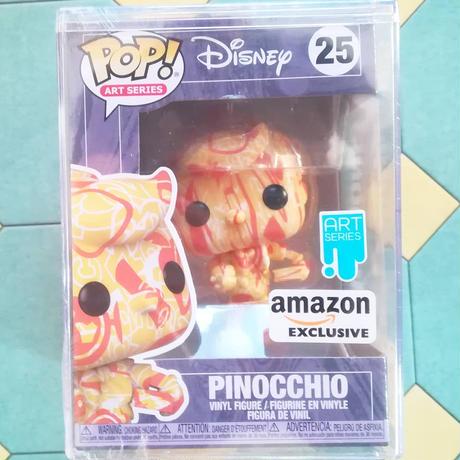 ファンコ ポップ ディズニー アーティストシリーズ② ピノキオ