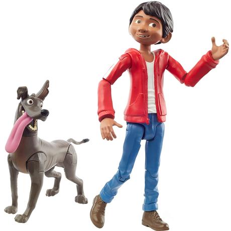 ピクサー「リメンバー・ミー」ミゲル&ダンテ  アクションフィギュア Disney Pixar Coco Miguel&Dante Figures