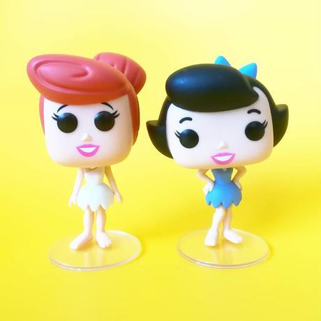 ファンコ  ポップ   Funko POP!『原始家族フリントストーン』ウィルマ & ベティ