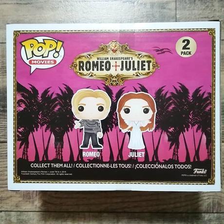 ファンコ ポップ  「ロミオ+ジュリエット」 FUNKO  POP! Romeo and Juliet  2pack