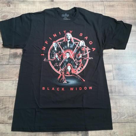 マーベル「INFINITY SAGA」ブラック・ウィドウ BLACK WIDOW    Tシャツ